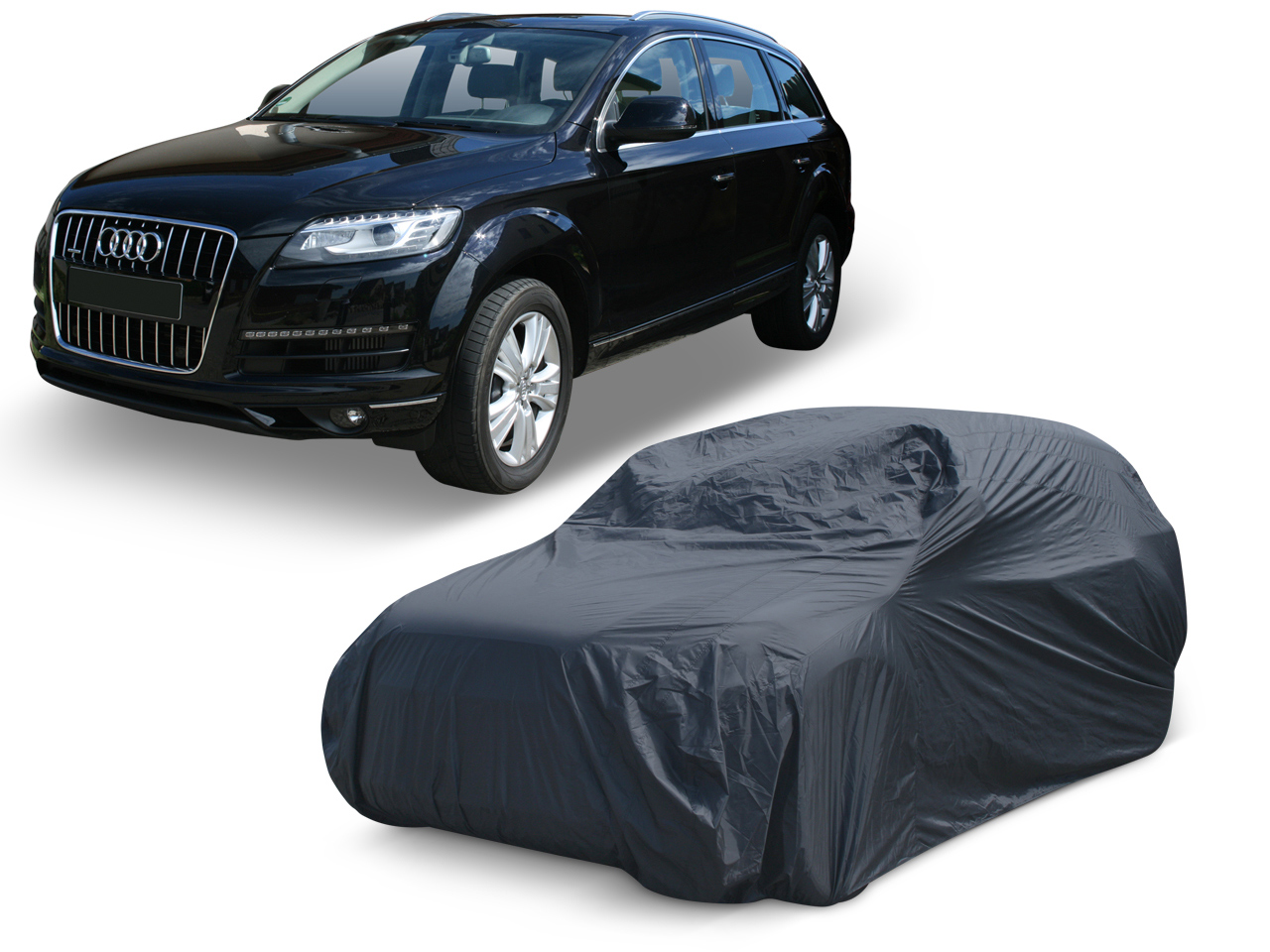 Color : Black JMQCXD Autoabdeckung Kompatibel mit Audi A5 Cabrio Car Cover Outdoor Regenfest Wasserdicht Schnee Sunscreen Pers/önlichkeit Mode Oxford Cloth Car Cover